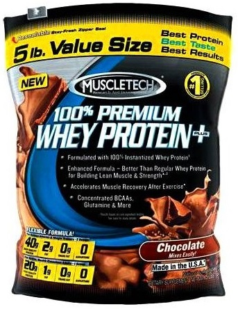 MuscleTech 100% Premium Whey Protein 2270g