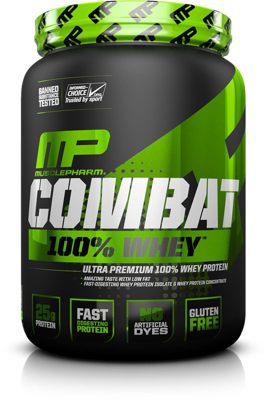 MusclePharm Combat 100% Whey 2270g